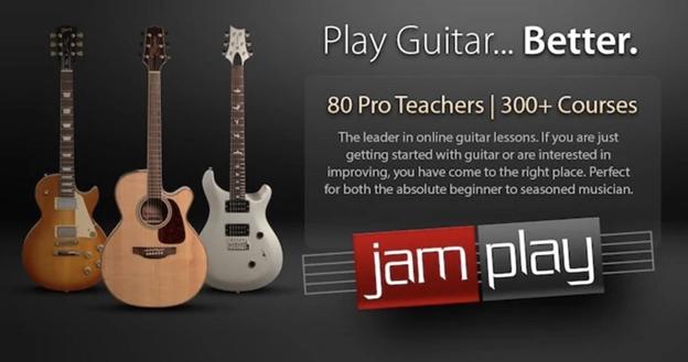 JamPlay home screen image.